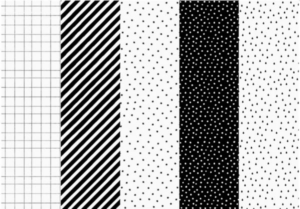pickposh piekfeine dinge geschenkpapier rollen schwarz wei auswahl. Black Bedroom Furniture Sets. Home Design Ideas